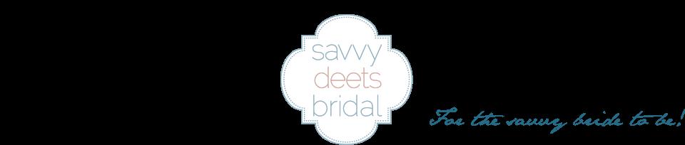 Savvy Deets Bridal