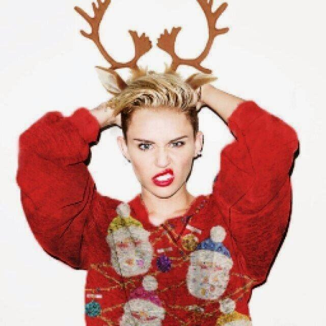 Rockin' Around The Christmas Tree lyrics by Miley Cyrus — Christmas ...