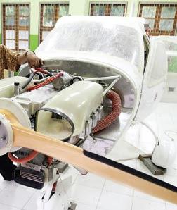 Jabiru J430 Buatan Pelajar SMK
