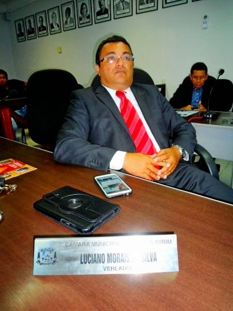 Resultado de imagem para vereador Luciano Morais da Silva de ceará-mirim