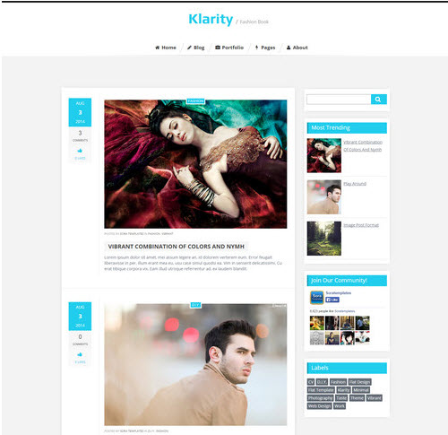 Klarity Personal blog