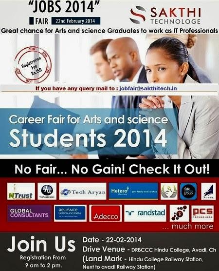 sakthi technologies Job Fair 2014