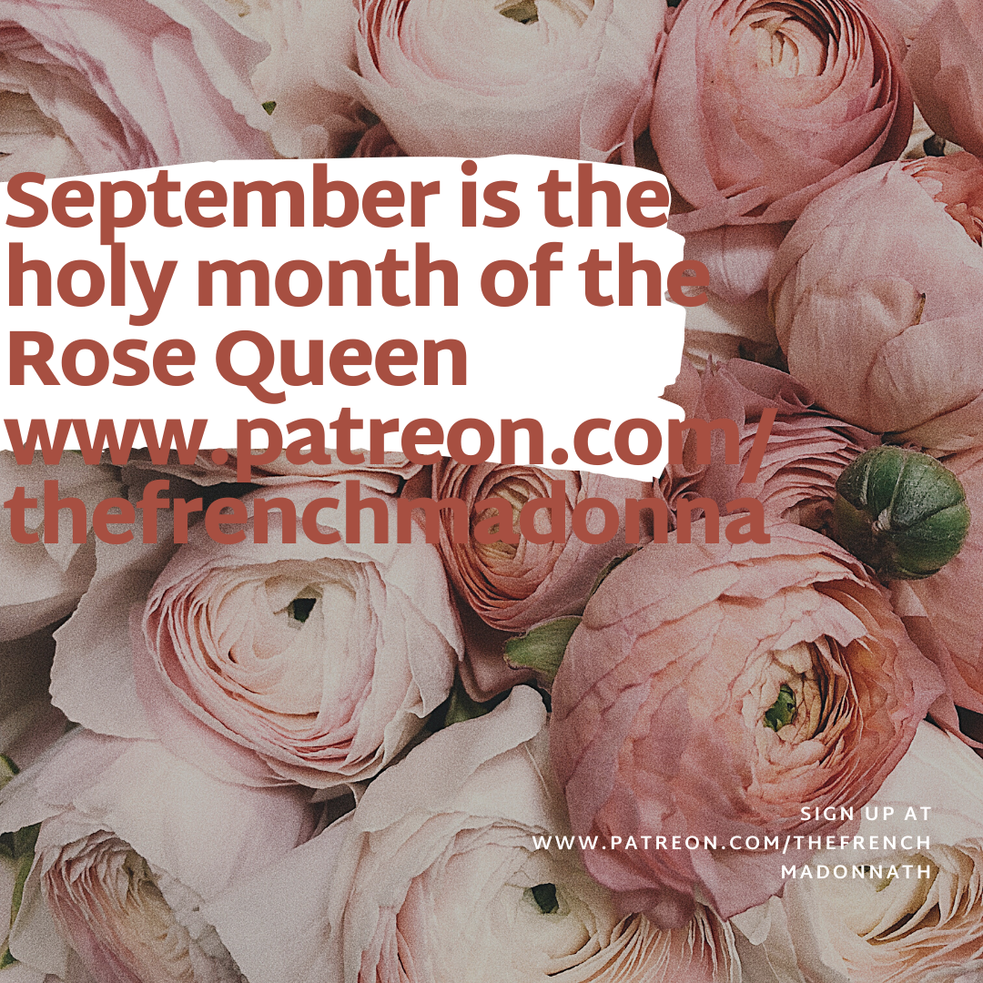 Holy month of the Rose Queen