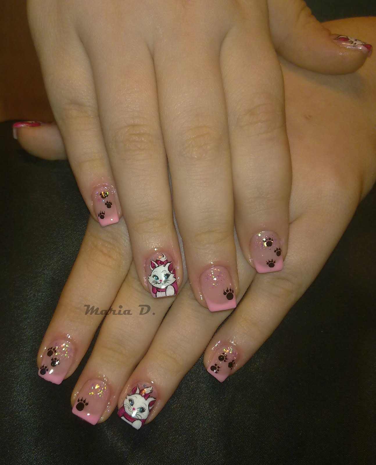 Shiny-Nails by Maria D.: Marie - The Aristocats by Disney