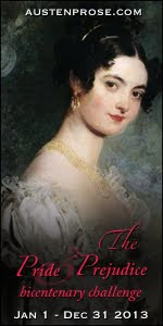 Pride &amp; Prejudice Challenge for 2013