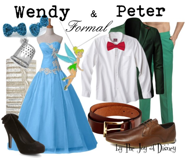 prom dresses, disney prom, prom outfits, disney fashion, peter pan wendy
