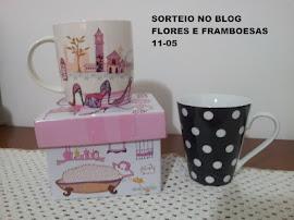 primeiro sorteio do blog Flores e Framboesas