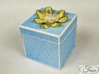 Ręcznie robione pudełko na roczek