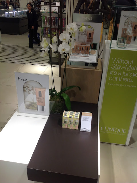 John Lewis Oxford Street Beauty Hall - Clinique Exclusive