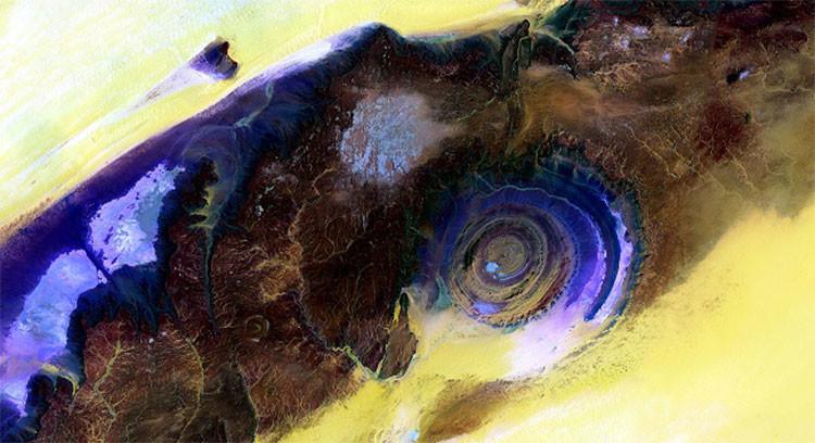 El Sahara desde el espacio