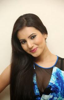 Telugu Actress Anu Smruthi Latest Pictures in Short Dress at Heroine Movie Press Meet  25.jpg