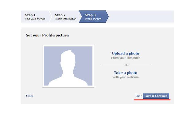 Cara Daftar Facebook Baru