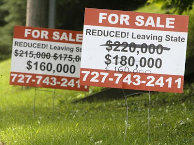 home prices plumeting