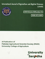 International Journal of Agriculture & Applied Sciences