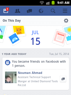 """Facebook Feature """"Memories On Facebook"""" A New Way To Look Back At Photos And Memories"""
