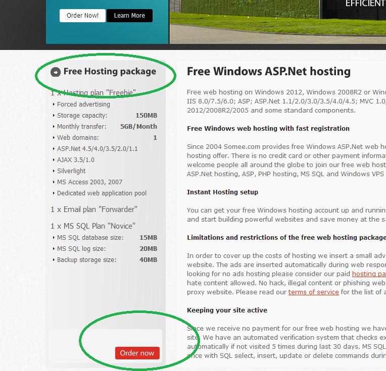 Deploy an ASP.NET MVC 4 Application to a FREE Web Host