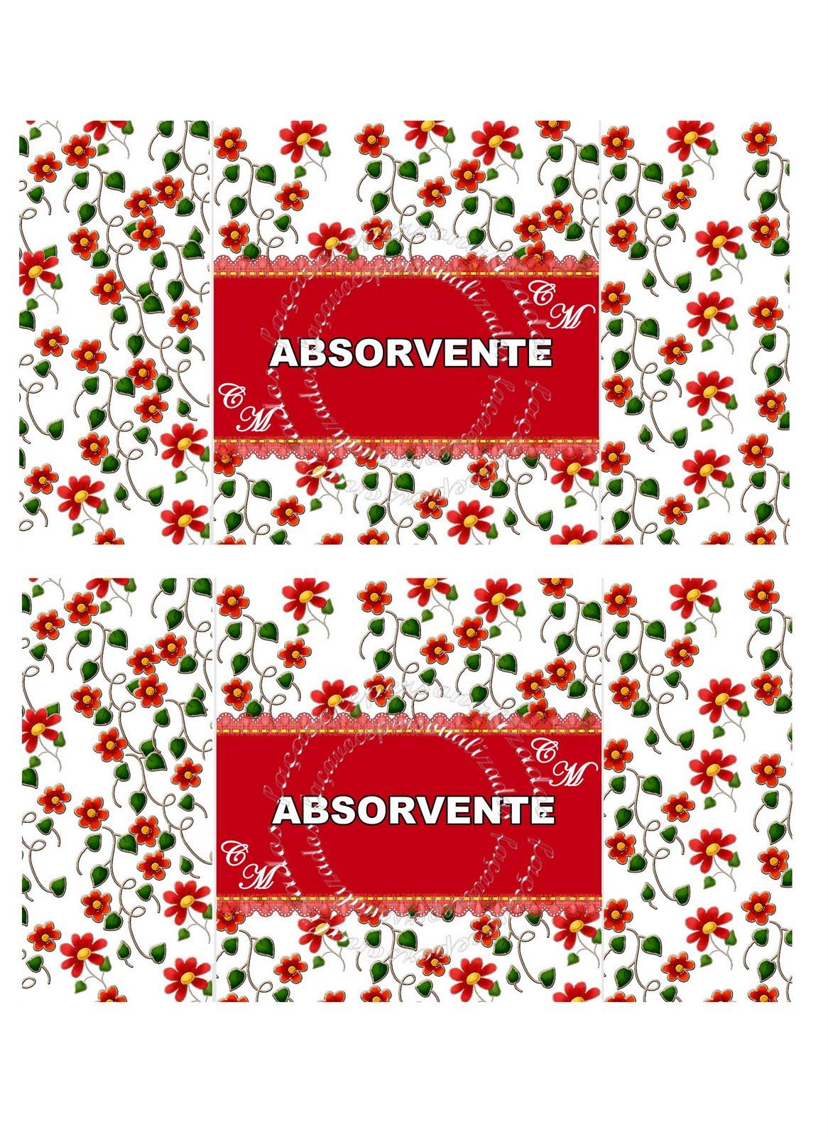 Faça você personalizados: Kit baheiro floral #BB1016 1166 1600