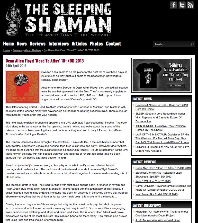 dean owens album reviews