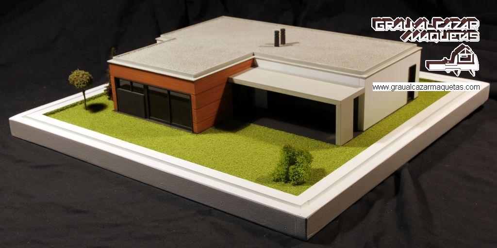 Casas prefabricadas hormipresa dise os arquitect nicos for Casa minimalista maqueta