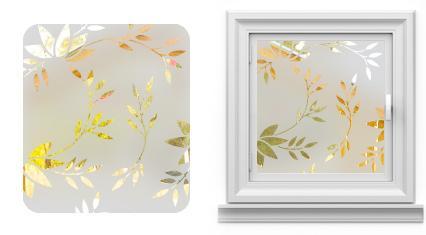 Arenado de mamparas decorativas arenado empavonado en - Vinilos decorativos para vidrios ...