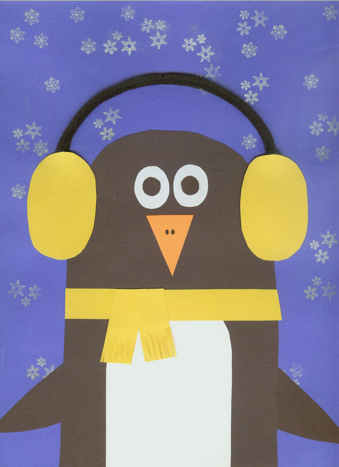 Cindy derosier my creative life earmuff penguin for Penguin project