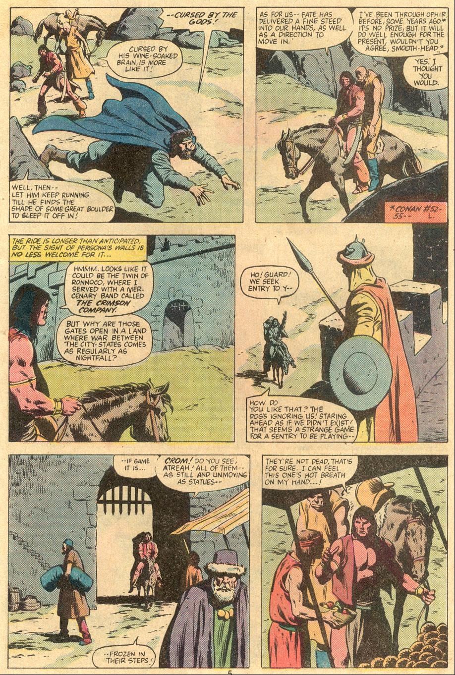 Conan the Barbarian (1970) Issue #122 #134 - English 5