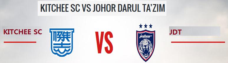 JDT Vs Kitchee 17 Mac 2015 Piala AFC