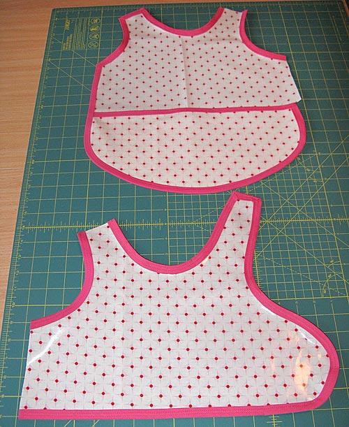 Sewing Toddler Apron