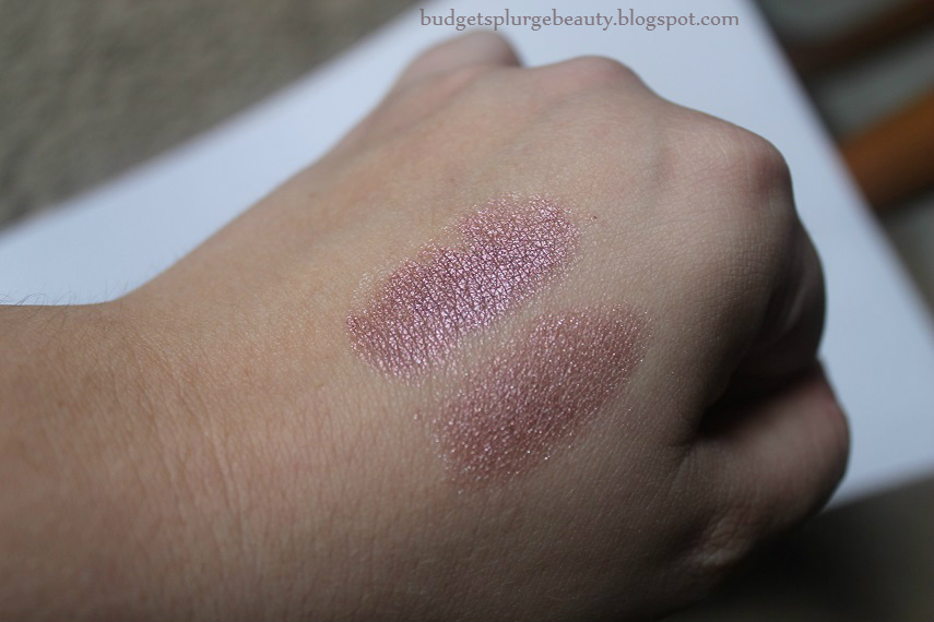 ba star eyeshadow swatch