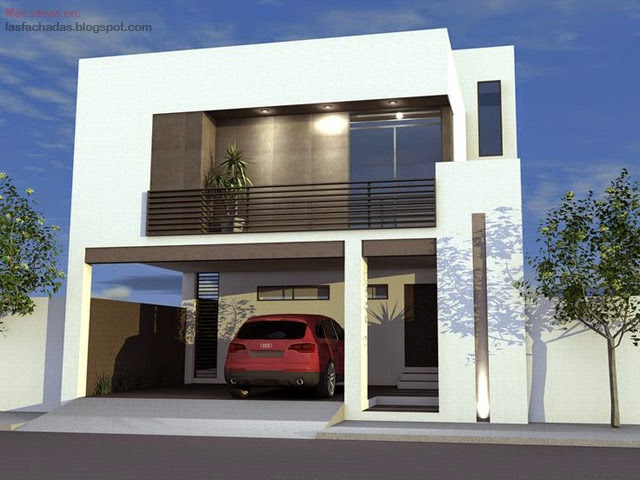 Fachada de casas sencillas y peque as fachadas de casas for Ideas fachadas modernas