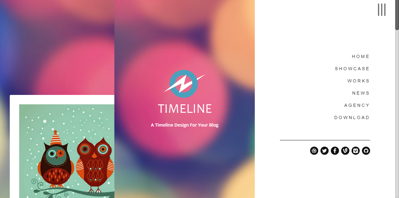 Best TimeLine Responsive Blogger Template By ThemeXposeCom - Timeline blogger template