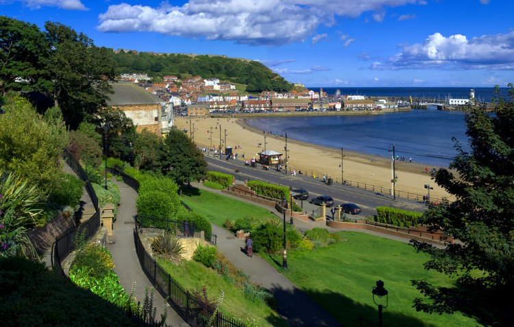 Scarborough, North Yorkshire. Panorama. By Thomas Tolkien