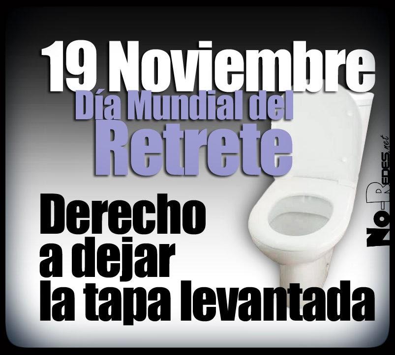 19 de noviembre, día del retrete