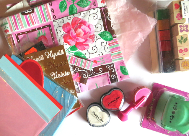 card paper craft supplies