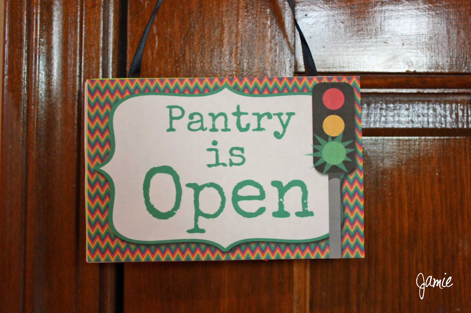 my fashionable designs  pantry open  u0026 closed sign project