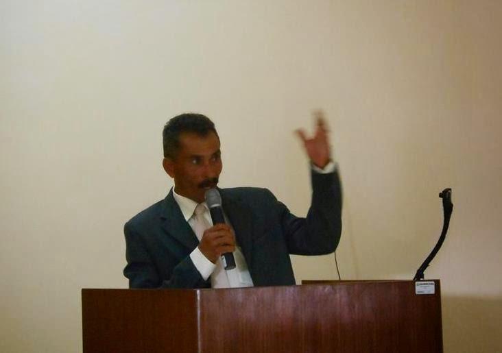 Vereador Zé Julio (PTB) Panelas-PE, na tribuna do Legislativo Municipal