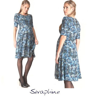 Kate  Duchess of Cambridge  SERAPHİNE Florrie Print Dress Style