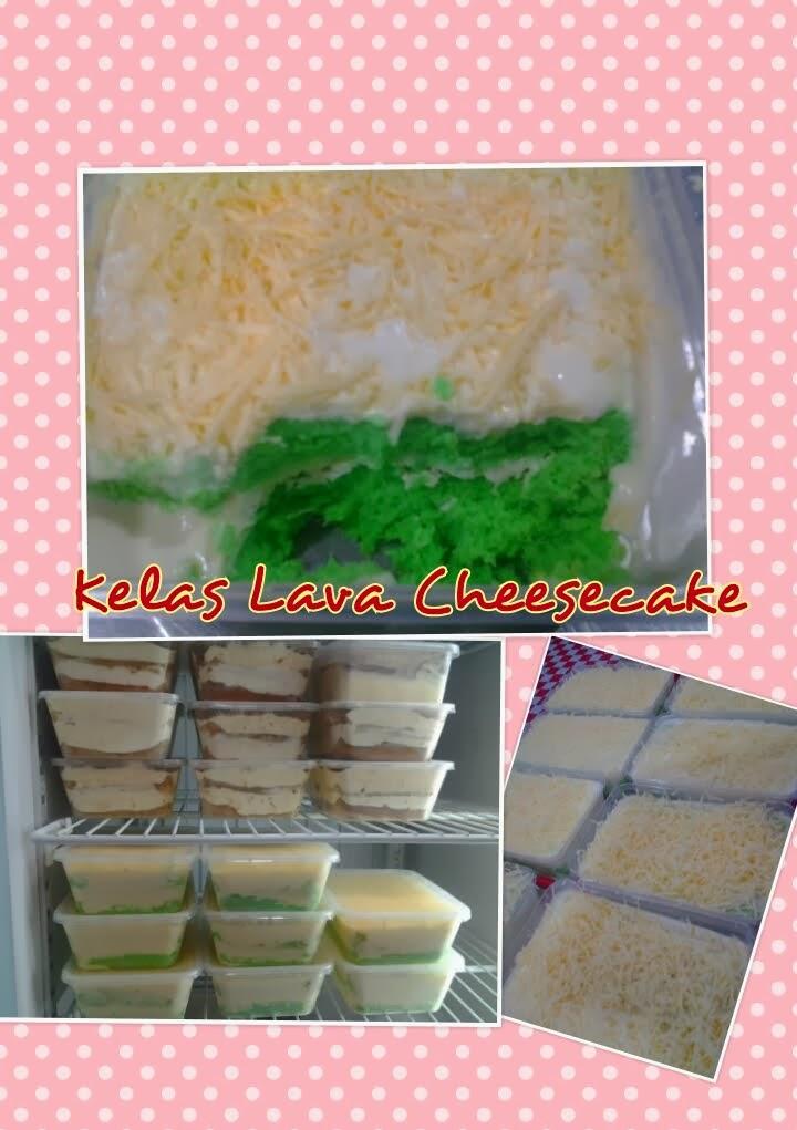 Kelas Personal Lava Cheesecake RM300 perhead