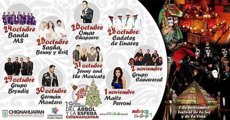teatro del pueblo feria de la esfera chignahuapan 2014