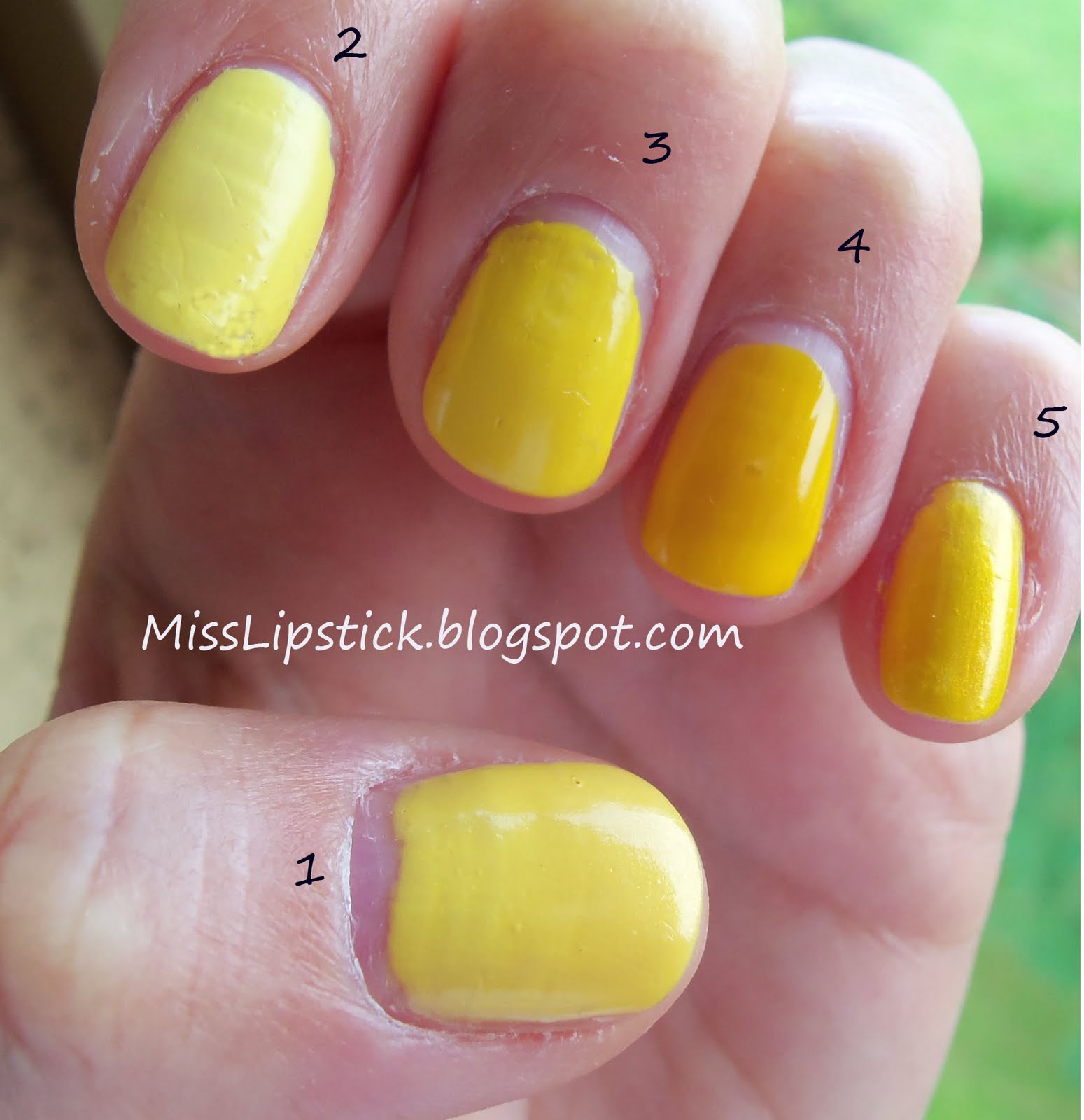 MissLipstick: Yellow Is The New Black