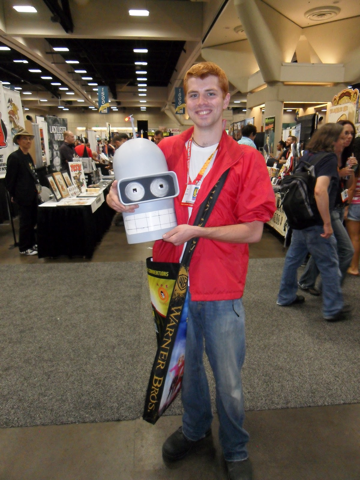 When youu0027re a guy and a redhead your costume choices can be a bit limited. This guy makes the most of it.  sc 1 st  The Yeti Speaks! & The Yeti Speaks!: Pictures from the 2012 Comic-Con part 7