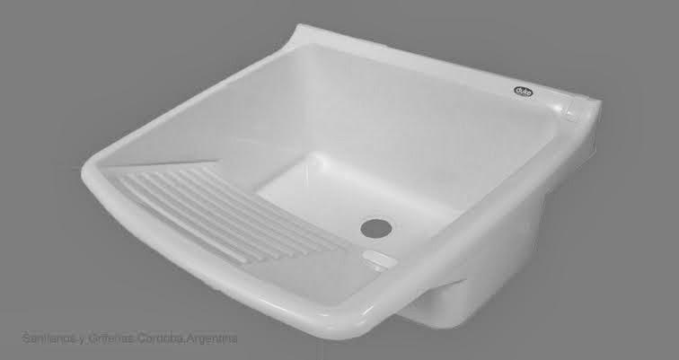 Pileta para lavadero plásticaResiste la acción de productos