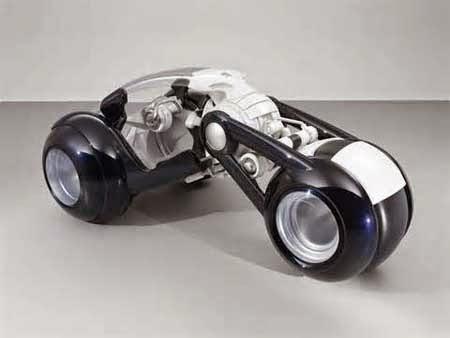konsep motor futuristik 3 roda