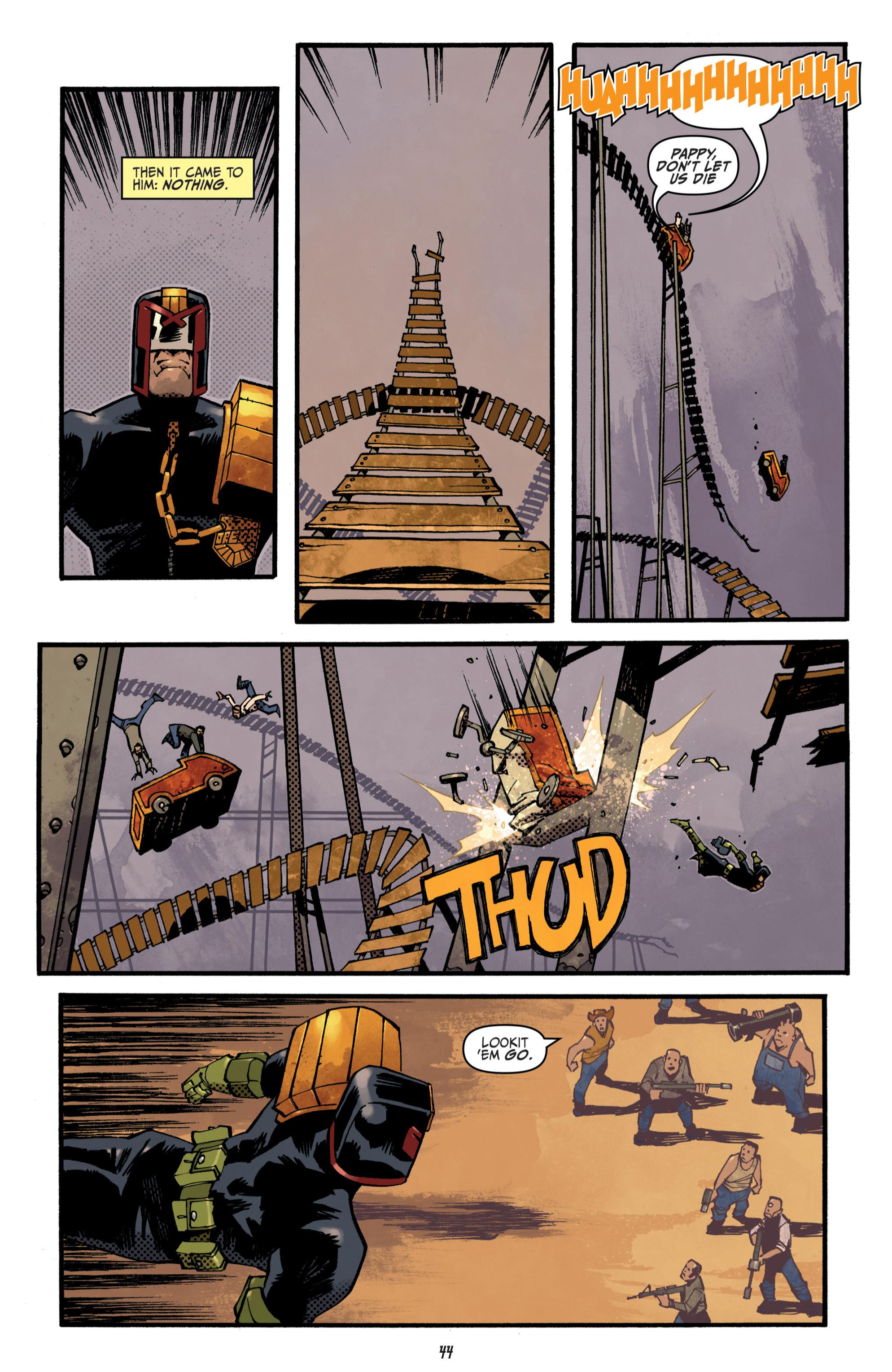 Read online Judge Dredd (2012) comic -  Issue # _TPB 3 - 44