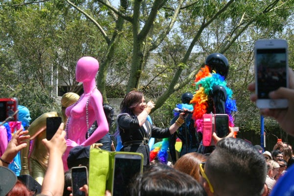 Demi Lovato West Hollywood Pride Parade 2014
