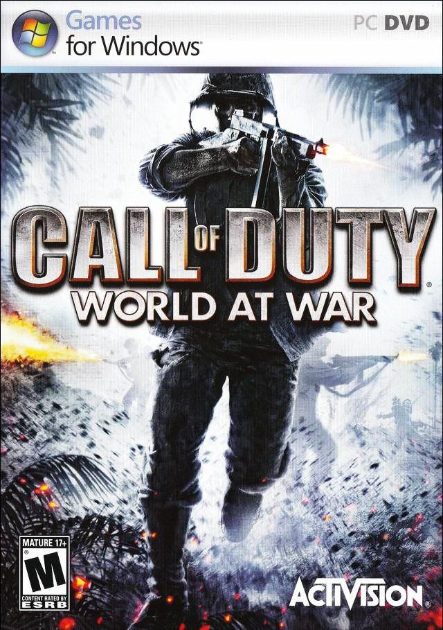 The call of duty 4 modern warfare engine call of duty world at war