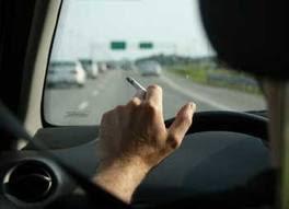 merokok sambil mengemudi bahaya