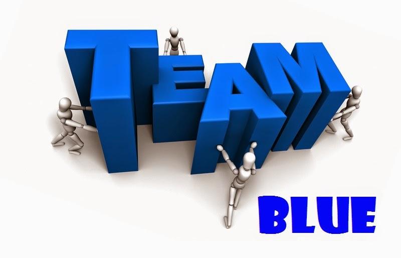 YA Scavenger Hunt #TeamBlue