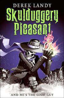 Skullguggery Pleasant Book Cover