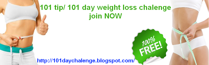 weight loss 101 day chalenge
